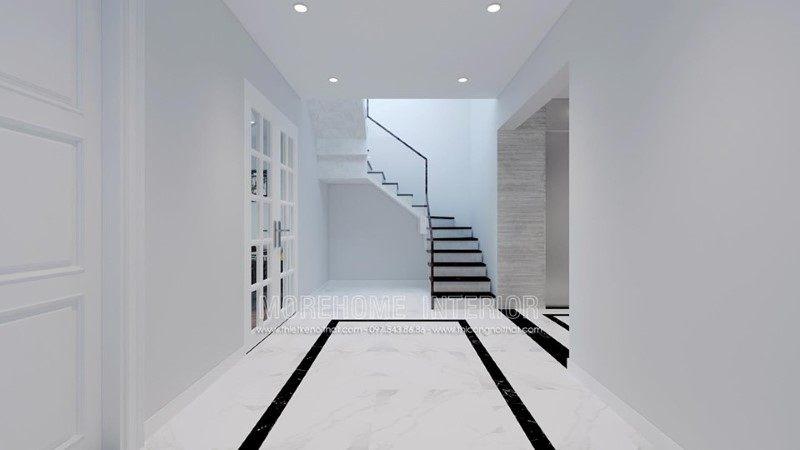 Thiết kế nội thất nhà phố trần bình cầu giấy hà nội