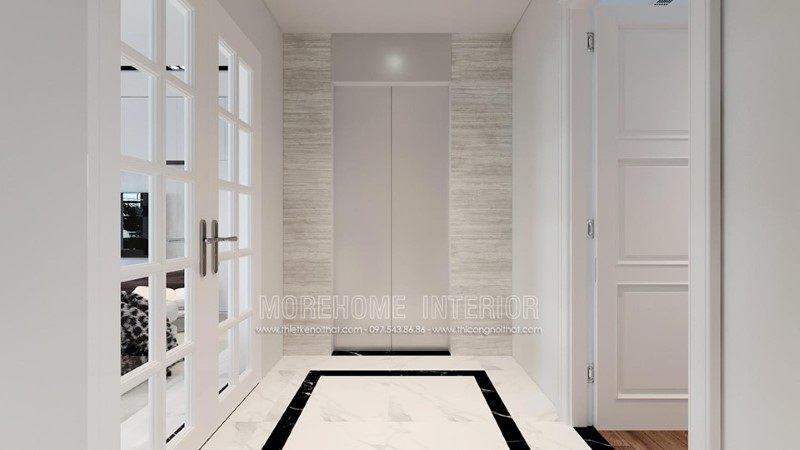 Thiết kế nội thất nhà phố trần bình