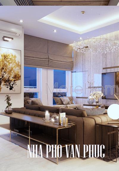 Thiết kế nội thất nhà phố Vạn Phúc - Qlộ 13 quận Thủ Đức