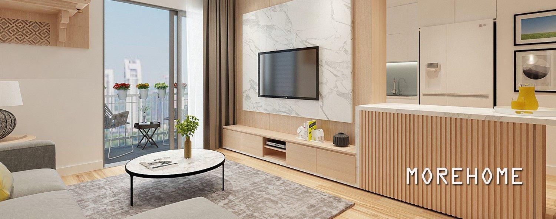 Mẫu thiết kế nội thất chung cư Park Hill hiện đại - Chị Phương