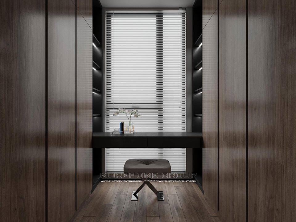 Thiết kế nội thất căn hộ Penthouse Ecopark hiện đại title=