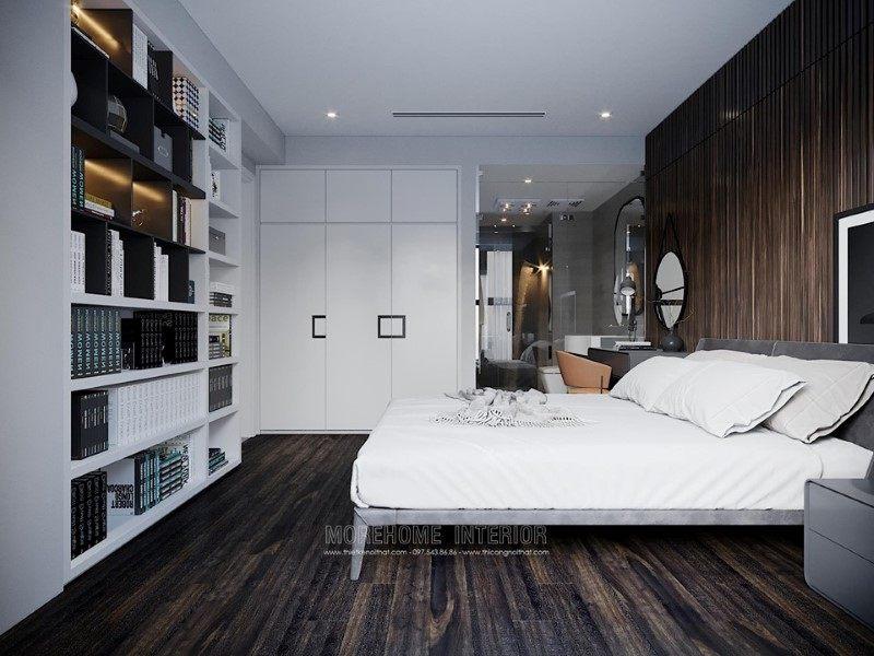 Thiết kế nội thất penthouse ecopark hiện đại