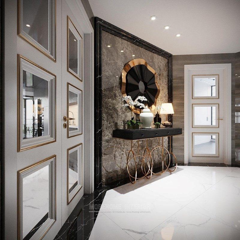 Kệ decor đẹp cho penthouse ecopark hưng yên