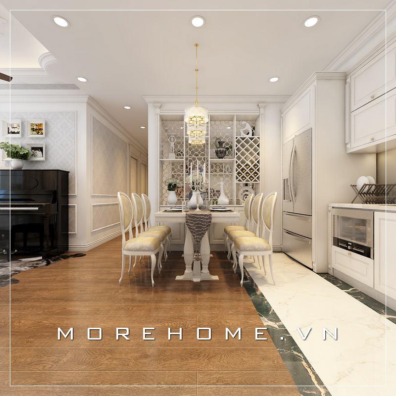 Thiết kế nội thất phòng ăn đẹp hiện đại & sang trọng