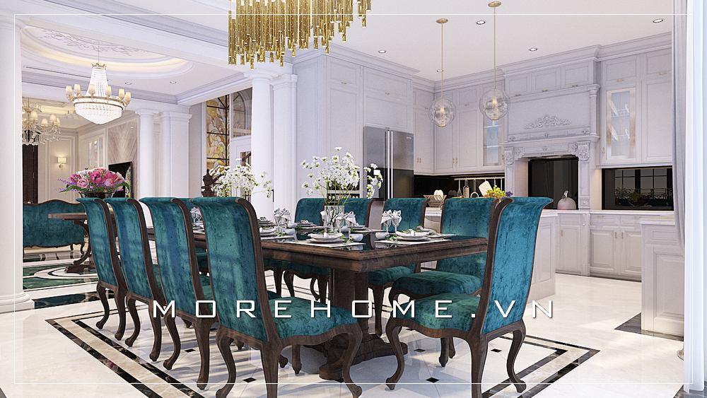 Thiết kế nội thất phòng ăn đẹp, trẻ trung và đẳng cấp
