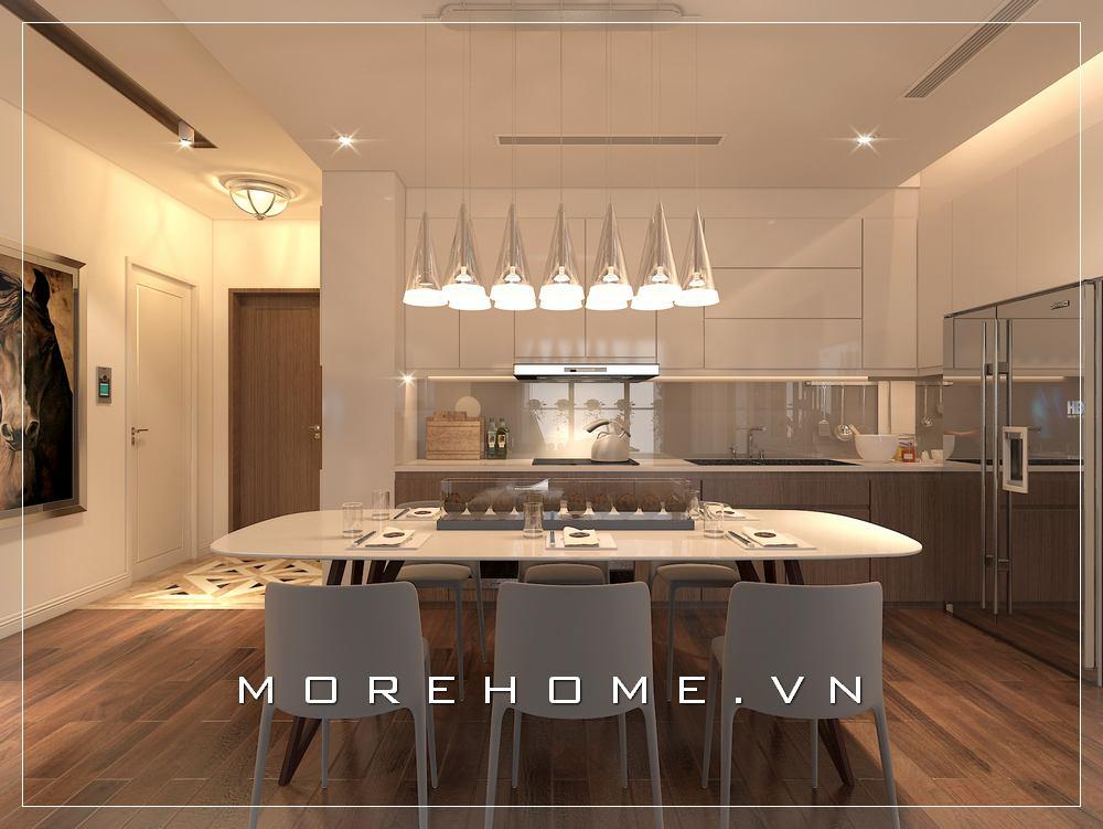 Thiết kế nội thất phòng bếp đẹp, tiện nghi