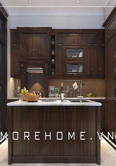 Thiết kế nội thất nhà bếp đẹp sang trọng, tiện nghi và sáng tạo