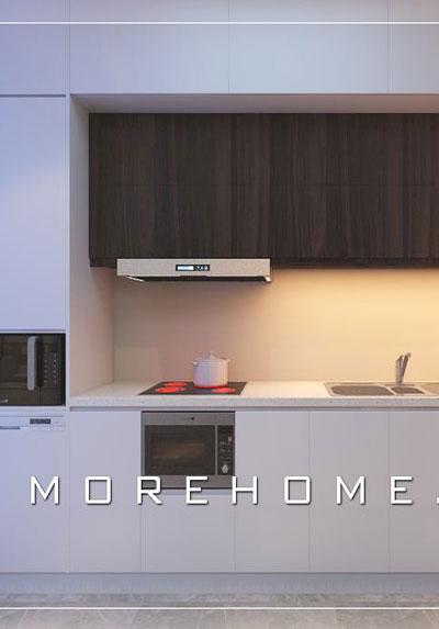 Thiết kế nội thất phòng bếp đẹp, hiện đại và tiện nghi tại Hà Nội
