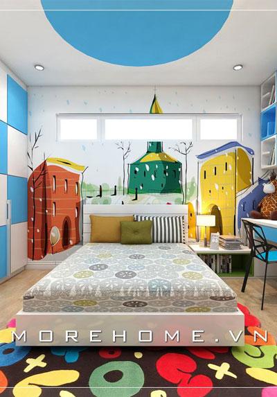 Bộ sưu tập mẫu thiết kế nội thất phòng ngủ bé trai được yêu thích nhất