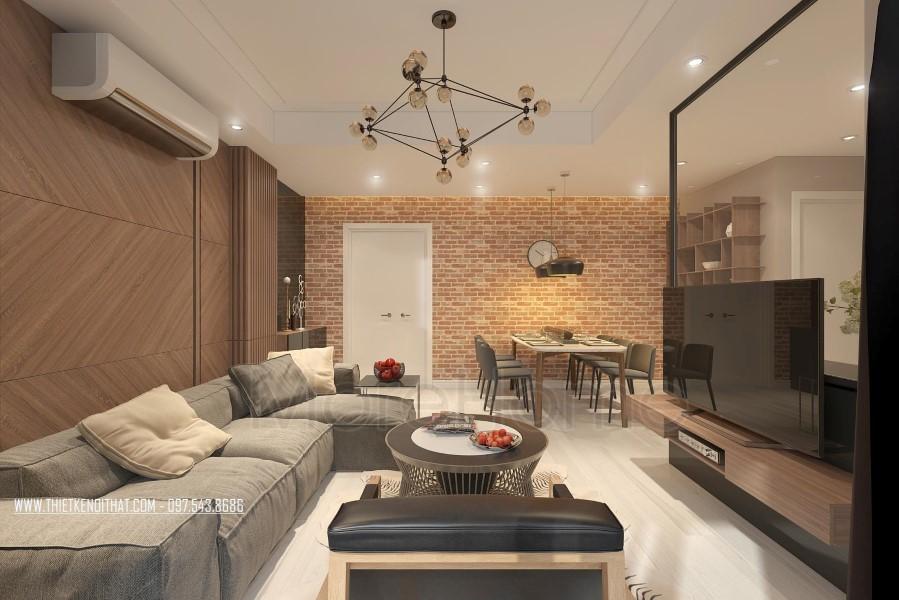 Thiết kế chung cư hiện đại tại Ruby Tower
