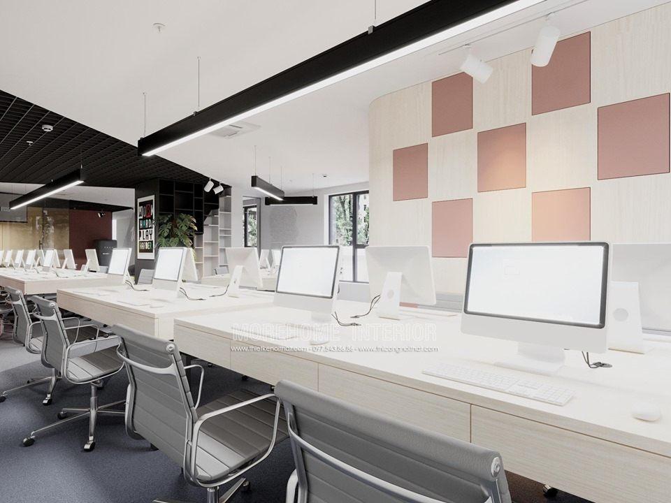 Thiết kế nội thất văn phòng phong cách hiện đại