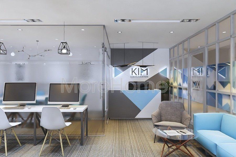 Thiết kế nội thất văn phòng Kim Communication