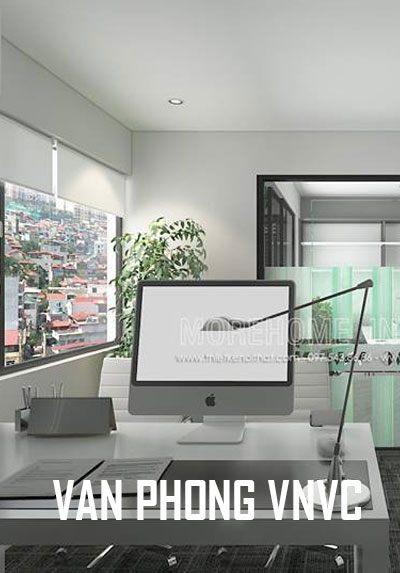 Thiết kế nội thất văn phòng VNVC đẹp hiện đại