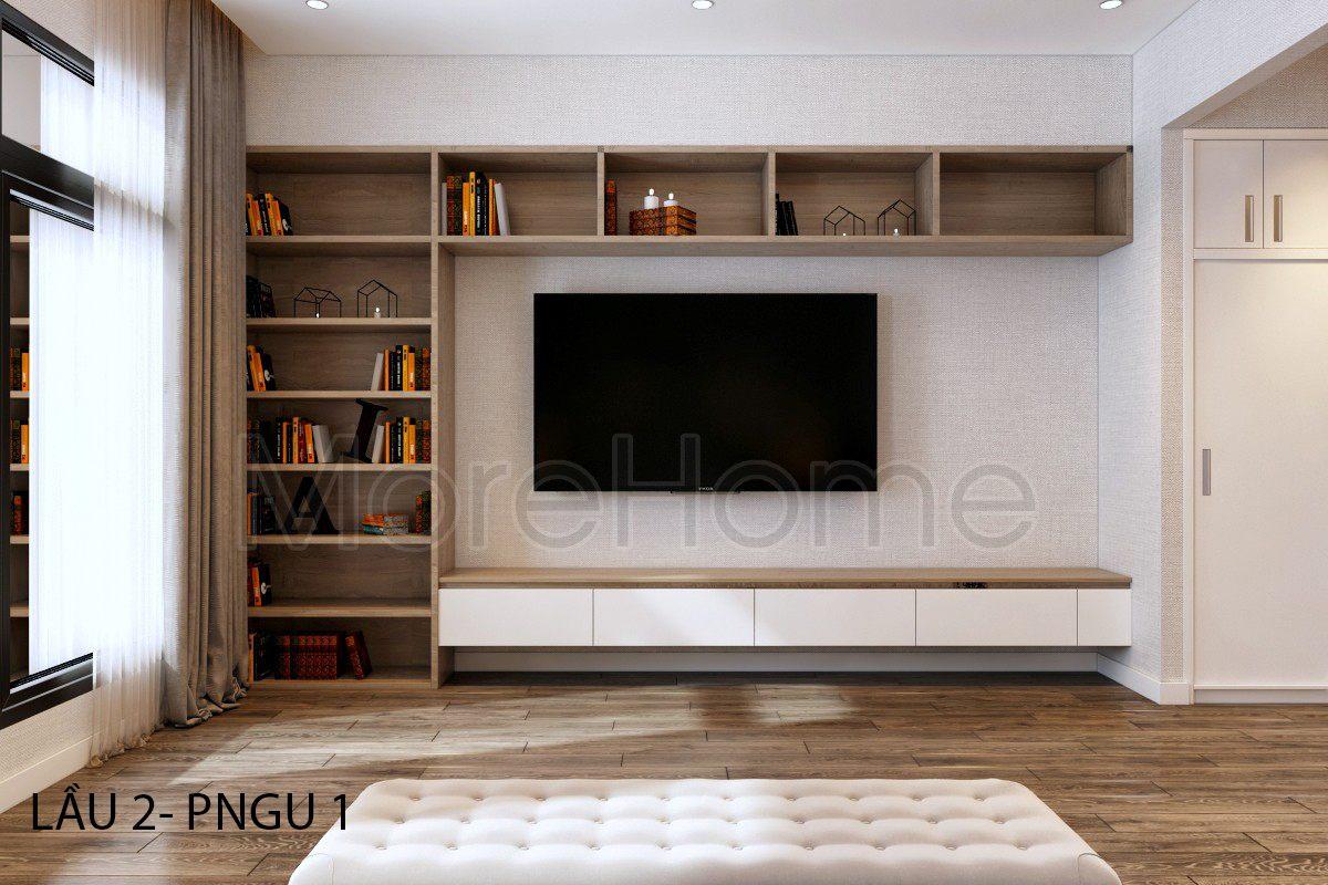 Thiết kế nội thất nhà phố Vincom Rạch Giá Kiên Giang