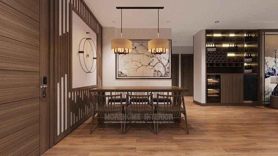 Thiết kế nội thất chung cư Vinhomes Skylake phong cách Nhật Bản
