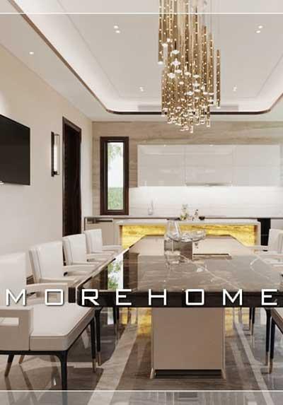 Thiết kế nội thất biệt thự 2 tầng cao cấp, sang trọng