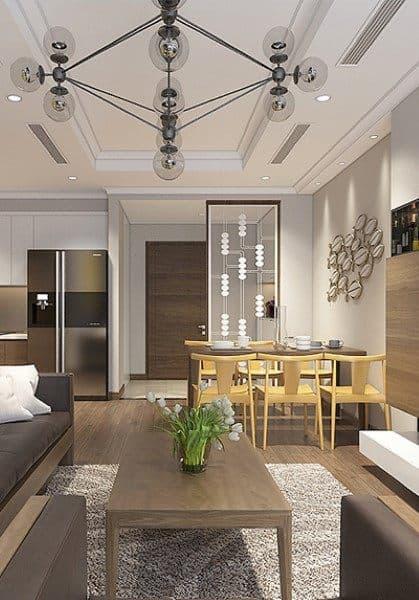 Mẫu thiết kế nội thất căn hộ Park Hill hiện đại - Anh Thanh