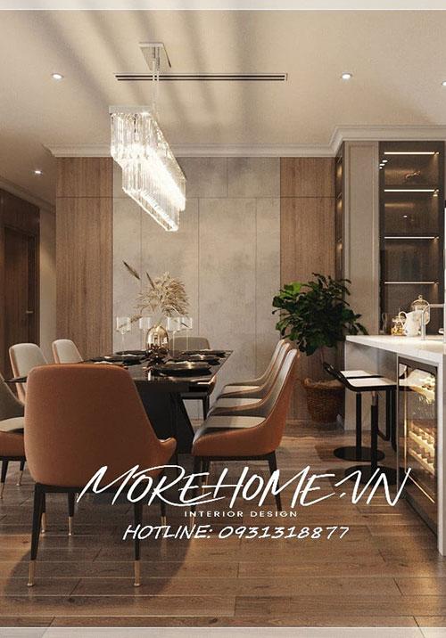 Thiết kế nội thất chung cư Starlake hiện đại, sang trọng