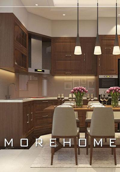 Mẫu thiết kế nội thất phòng bếp cực đẹp phù hợp với xu hướng năm nay