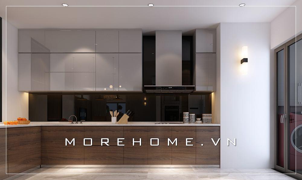 Mẫu thiết kế nội thất phòng bếp hiện đại