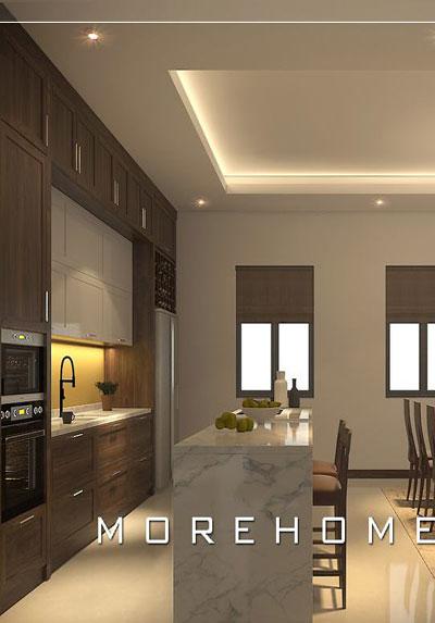 Thiết kế nội thất phòng bếp đẹp, cao cấp bạn nên tham khảo ngay