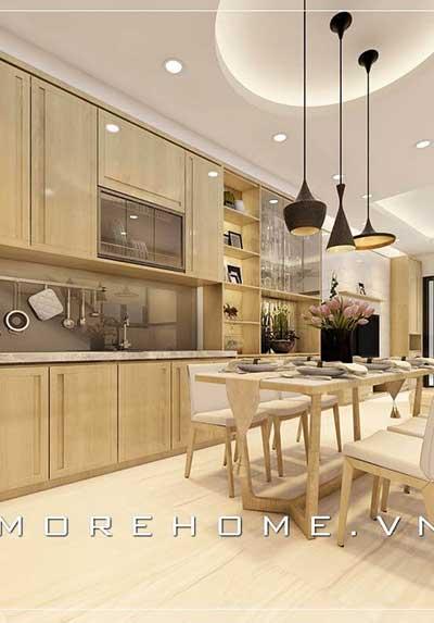Gợi ý các mẫu thiết kế phòng bếp ấn tượng nhất
