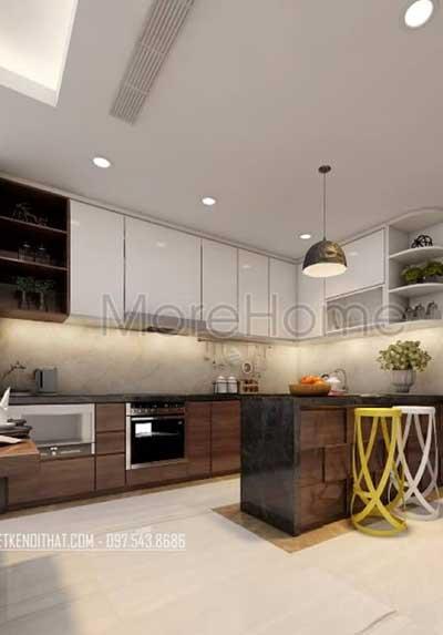Các ý tưởng thiết kế phòng bếp theo xu hướng thời đại