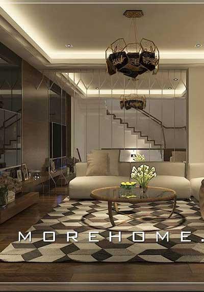Ấn tượng với những cách trang trí phòng khách hiện đại