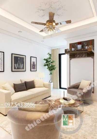 Tham khảo những ý tưởng thiết kế phòng khách chung cư đẹp nhất