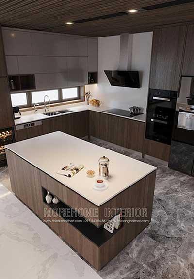 Các mẫu thiết kế phòng bếp tiện nghi