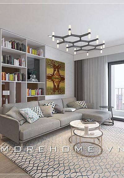 [HOT] Những mẫu thiết kế phòng khách chung cư đẹp và tiện nghi