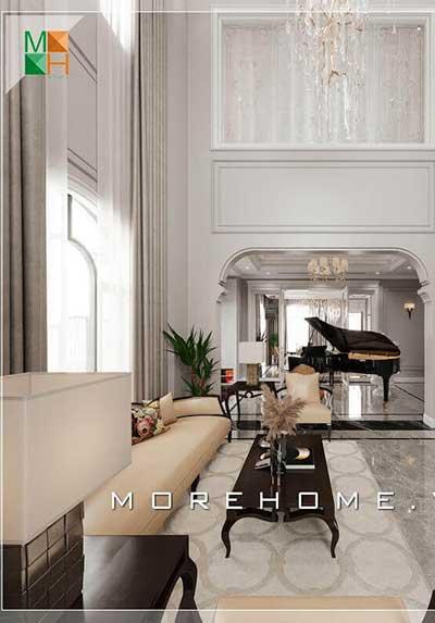 Sức hút của những mẫu thiết kế phòng khách cao cấp nhất