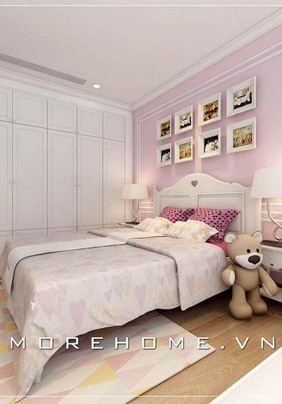 Ngắm nhìn mẫu thiết kế phòng ngủ màu trắng đẹp thanh kịch và tinh tế