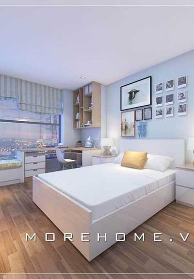 Tuyển chọn các mẫu nội thất phòng ngủ màu trắng đẹp mê mẩn