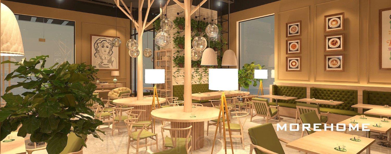 Thiết kế nội thất quán cafe & trà đạo