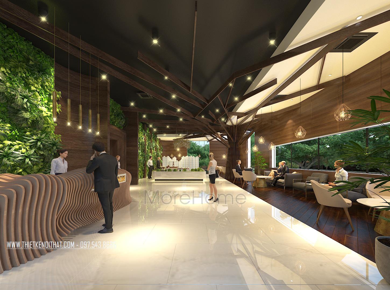 Thiết kế sàn giao dịch bất động sản FLC