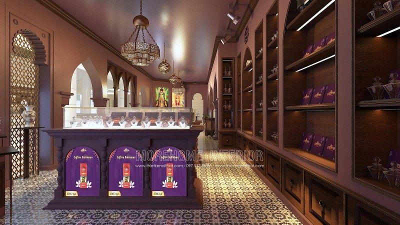 Thiết kế nội thất showroom Saffron Nguyễn Chí Thanh Đống Đa Hà Nội