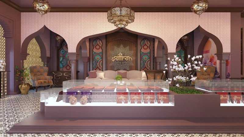Thiết kế showroom Saffron