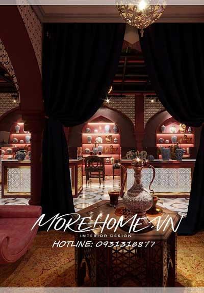 Thiết kế nội thất chuỗi showroom Saffron - độc đáo từ phong cách Iran