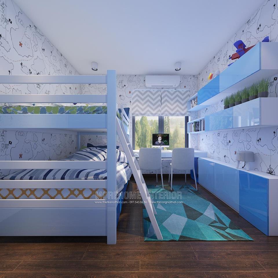 Thiết kế thi công nội thất chung cư Imperia Sky garden