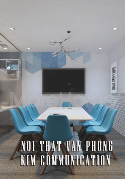 Thiết kế nội thất văn phòng Kim Communication Quận 1 Tphcm