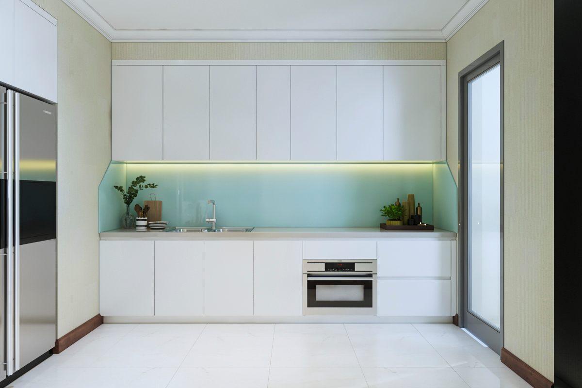Thiết kế nội thất phòng bếp Vinhomes Central Park Bình Thạnh