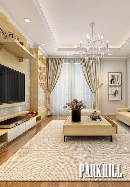 Thiết kế nội thất căn hộ chung cư ParkHill - Anh Tuấn