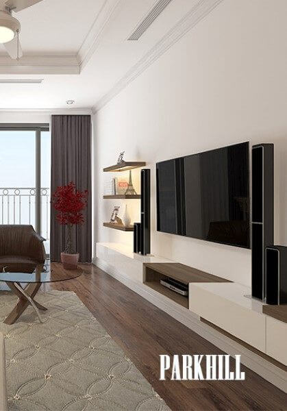 Mẫu thiết kế nội thất chung cư parkhill hiện đại