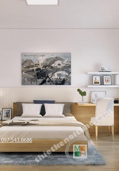 Thiết kế nội thất chung cư Golden Palace Mai Linh - Căn hộ C3