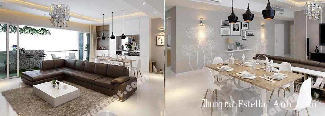 Thiết kế chung cư hiện đại cao cấp tại Estella, Q2
