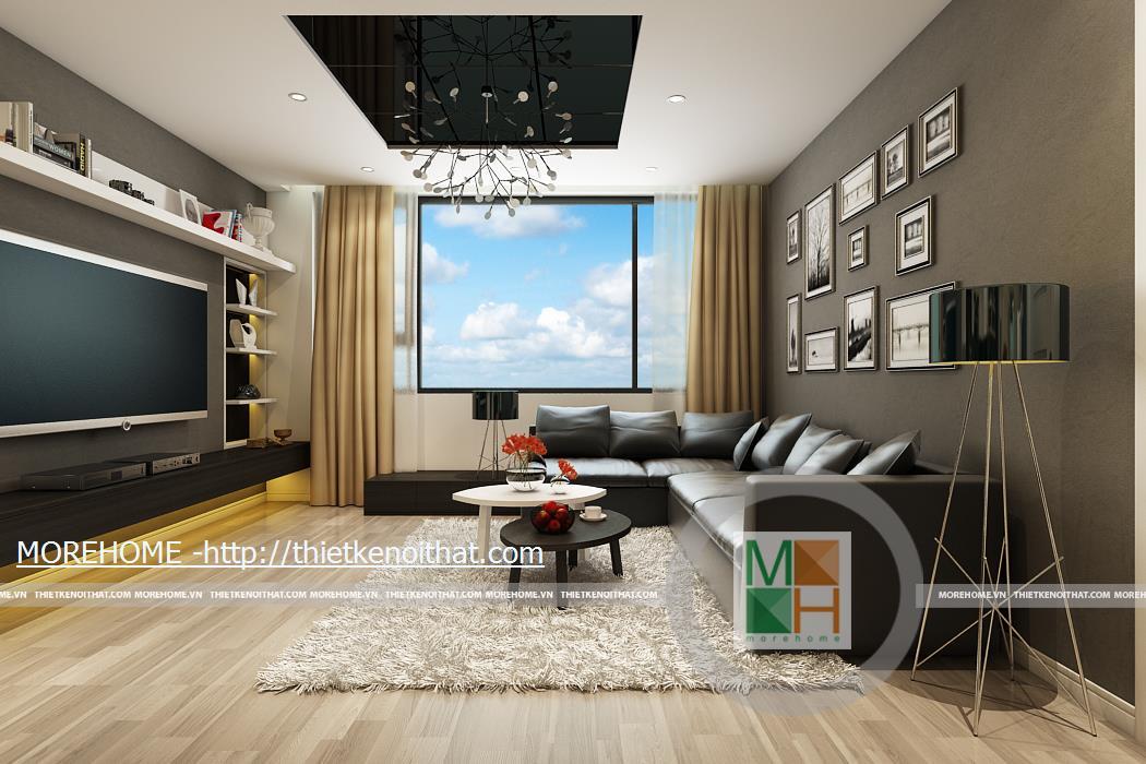 Thiet ke noi that chung cu Platinum Residences nha chi Phuong