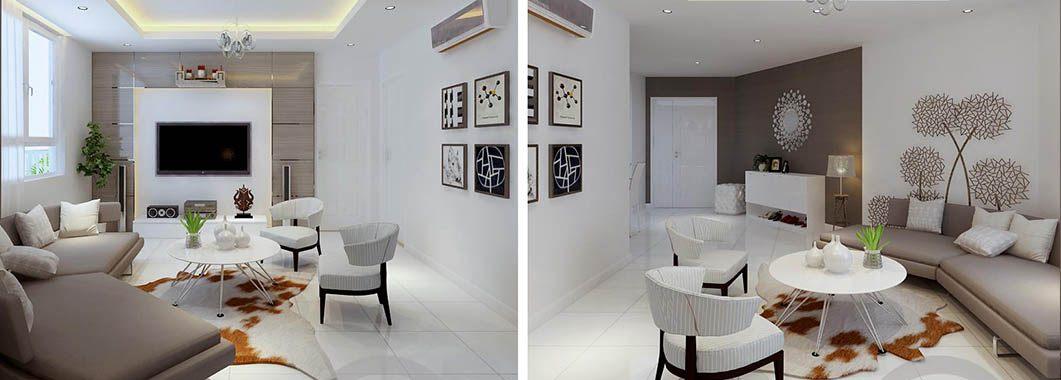 Thiết kế nội thất chung cư Hà Đô