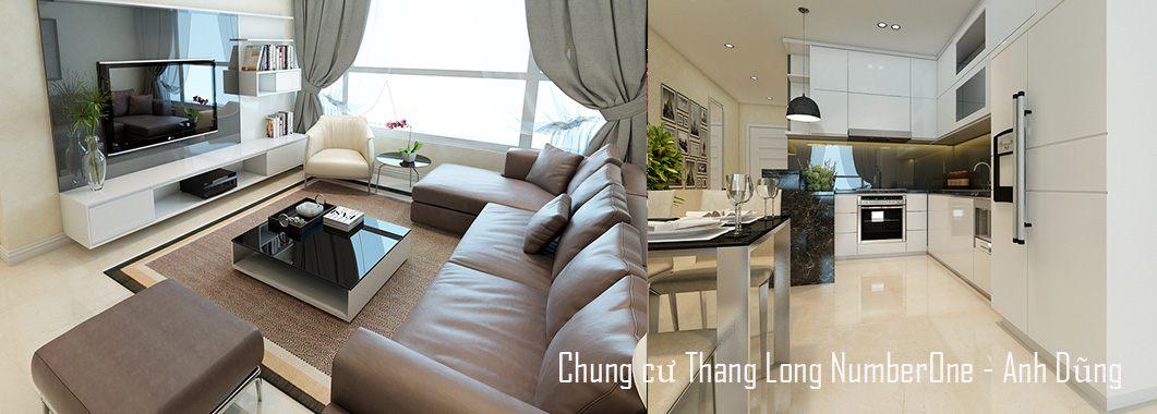 Thiết kế nội thất chung cư Thăng Long Number One