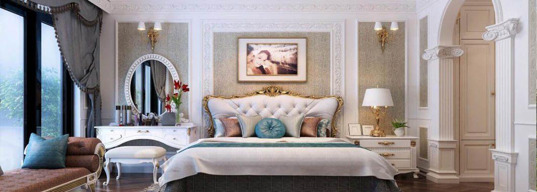Thiết kế nội thất tân cổ điển chung cư R1- Royal City sang trọng